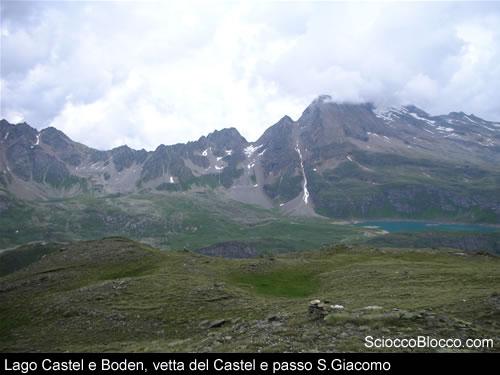 panorama laghi e castel